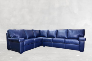 Barcelona Sectional With Contrast Stitch