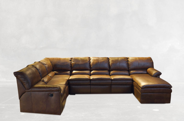 Bellagio Reclining Sectional With Chaise