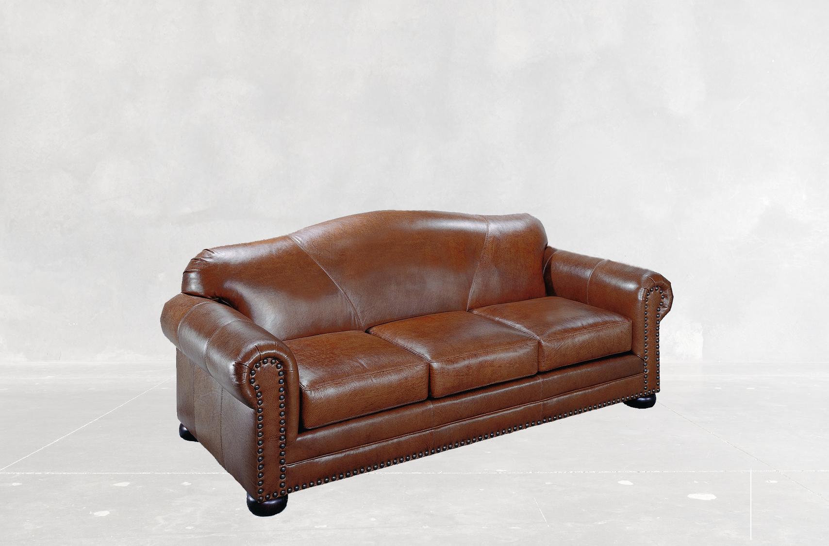 Camelback Sofa Creative Leather