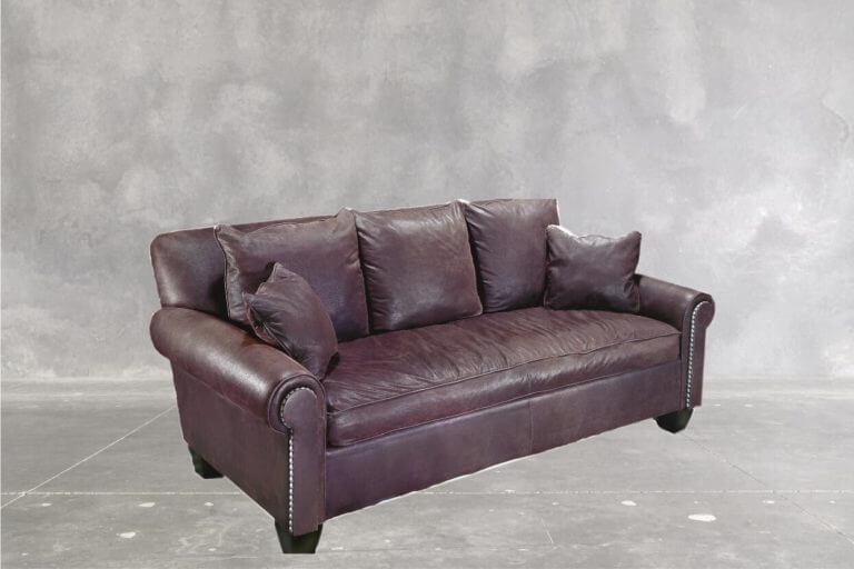 Cosmopolitan Sofa Concrete Back Round