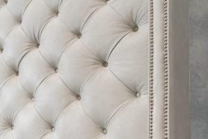 Lancaster Tufted Bed detail