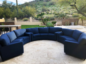 Outdoor Kensington Curved Sofas